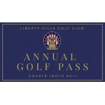 Annual Golf Pass Senior Couple (both 60+)