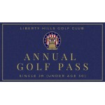Annual Golf Pass Single Junior (under age 30)